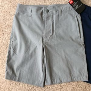 Boys size 6 under armour shorts NWT